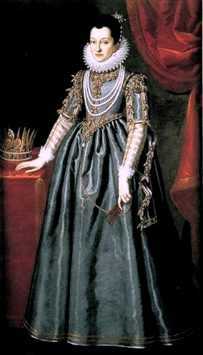 Christina of Lorraine, Grand Duchess Consort of Tuscany, ca. 1595 (Scipione Pulzone) (1544-1598)  Location TBD