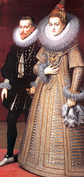 Albrecht of Austria and Isabella Clara Eugenia of Spain, ca. 1599  (Peter Paul Rubens) (1577-1640)   Location TBD