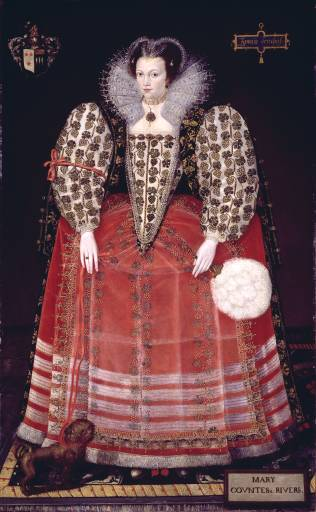 Mary Kytson, Lady Darcy of Ciche, ca. 1590 (Unknown Artist) Tate Britain, London  L002466