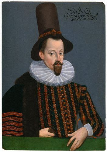 James VI, King of Scotland, future King of England, ca. 1590 (Unknown Artist) National Portrait Gallery, London, NPG 1188