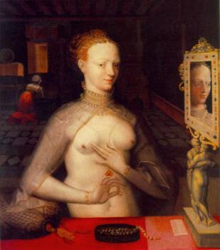 Diane de Poitiers, ca. 1590  ( Master of the Fountainbleau School) Kunstmuseum Basel
