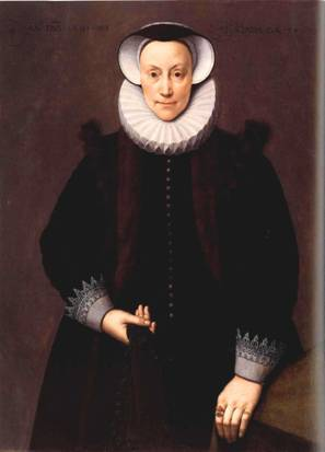 A Woman at 54 years old,  1591  (Frans Pourbus the Younger) (1569-1622)   Fine Arts Museums of San Francisco, CA