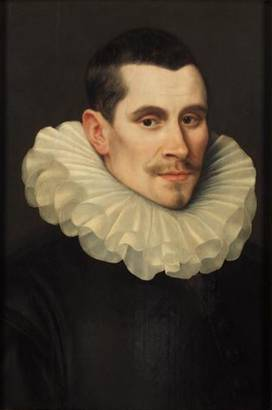 A Man, ca. 1590-1600 (Frans Pourbus the Younger) (1569-1622)    Kunsthistorisches Museum, Wien     GG_842