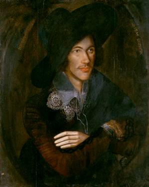 John Donne,  ca. 1595   (Unknown Artist)    National Portrait Gallery, London     6790