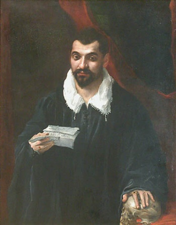 A Man, possibly Doctor Boissy, ca. 1595 (circle of Annibale Carracci) (1560-1609) Location TBD