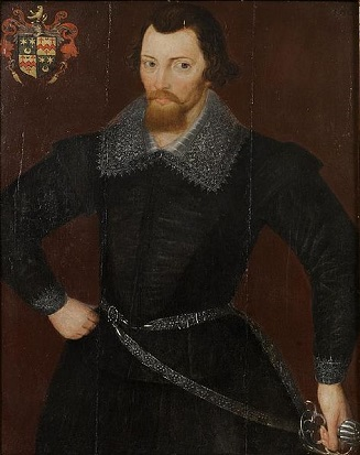 A Man, probably Wilson Gale, 1601 (Unknown Artist) Lawrences Auctioneers, Somerset, UK