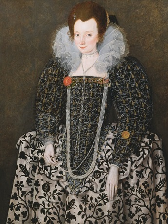 A Lady, ca. 1600 (Robert Peake the Elder) (1551-1619) Yale Center for British Art, New Haven, CT, B1974.3.6