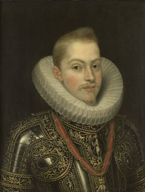 Philip III Hapsburg, ca. 1600 (Frans Pourbus the Younger) (1569-1622) Rijksmuseum, Amsterdam SK-A-507