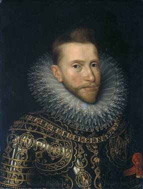 Albert Hapsburg, ca. 1600 (Frans Pourbus the Younger) (1569-1622) Rijksmuseum, Amsterdam SK-A-509