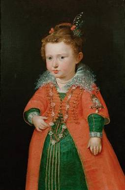 Empress Eleanor Gonzaga at 2 years old, ca. 1600-1601 (follower of Peter Paul Rubens) (1577-1640) Kunsthistorisches Museum, Wien GG_3339