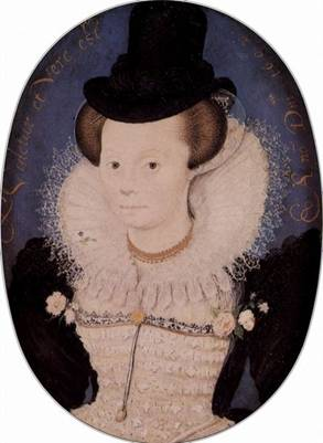 A Woman, 1602 (Nicholas Hilliard) (1547-1619) Victoria and Albert Museum, London