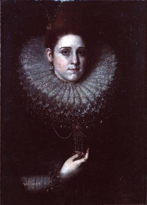 A Lady, possibly Eleanor de Medici, ca.1602 (attributed to Frans Pourbus the Younger) (1569-1622) Utah Museum of Fine Arts, Salt Lake City 1982.293