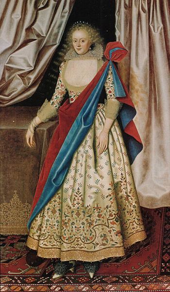 Isabella Rich, Mrs. Rogers, ca. 1614-1618 (William Larkin) (1580-1619) Kenwood House, Suffolk Collection, London