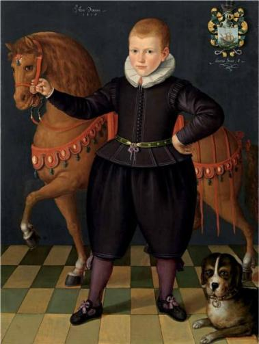 A Boy, possibly of the Blauhulck Family, 1618 (circle of Jan Claesz.) (fl. 1570-1618) Weiss Gallery, London