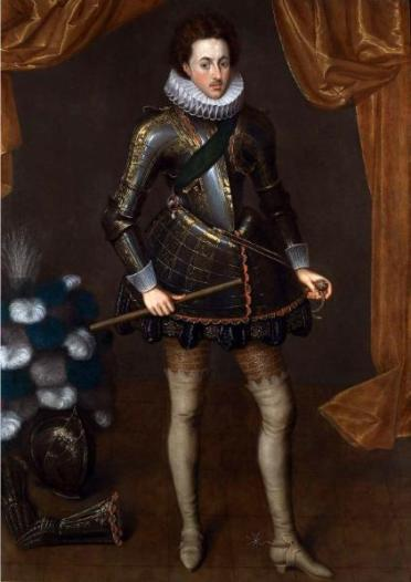 Henry Frederick, Prince of Wales, ca. 1612 (Robert Peake) (1551-1619) Weiss Gallery, London
