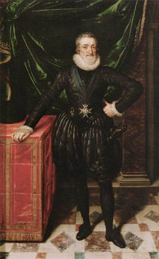 Henry IV, King of France, ca. 1610 (Frans Pourbus the Younger) (1569-1622) Musée du Louvre, Paris