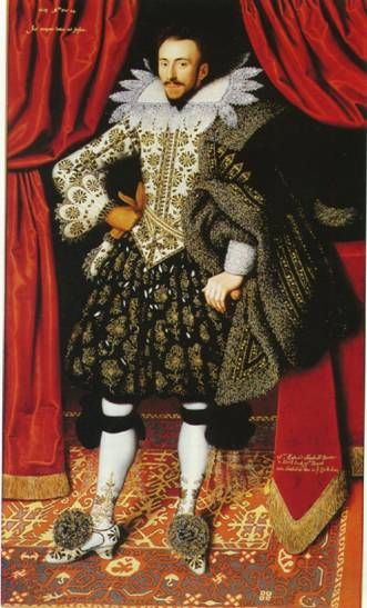 Richard Sackville, 3rd Earl of Dorset, 1613 (William Larkin) (1580-1619) Kenwood House, Hampstead, London, Iveagh Bequest