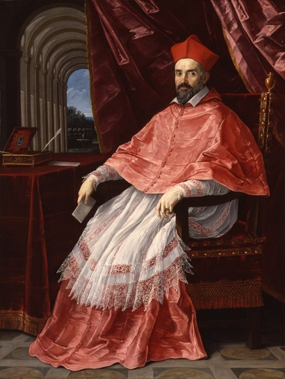 Cardinal Roberto Ubaldino, Papal Legate to Bologna, 1627 (Guido Reni) (1575-1642)  Los Angeles County Museum of Art, CA, M.83.109
