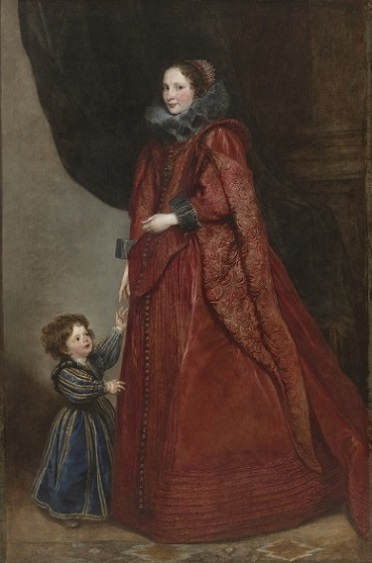 A Woman and Child, ca. 1625 (Sir Anthony van Dyck) (1599-1641)  Cleveland Museum of Art, OH, 1954.392