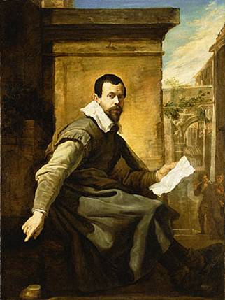 A Man,  ca. 1620   (Domenico Fetti) (1589-1623)   The J. Paul Getty Museum, Los Angeles, CA. 93.PA.17