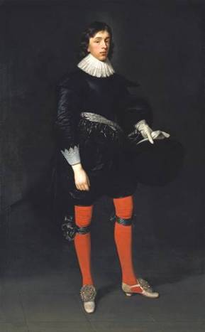 James Hamilton at 17 years old, 1623 (Daniel Mijtens) (1590-1648)   Location TBD