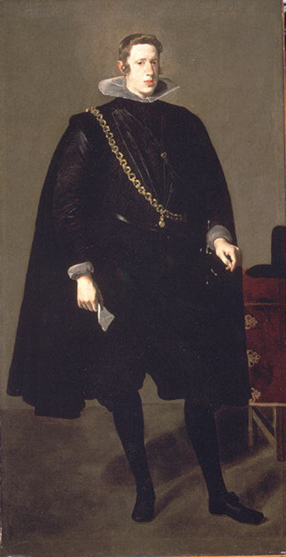 Philip IV, King of Spain, ca. 1624    (Diego Velazquez) (1599-1660) Metropolitan Museum of Art,  New York, NY,   14.40.639