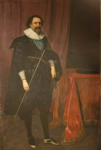 William Herbert, Third Earl of Pembroke,  ca. 1625 (studio of Daniel Mijtens) (1590-1642) Utah Museum of Fine Arts, Salt Lake City,  1983.095