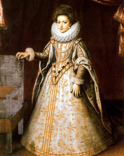 Henrietta Maria of France, Queen Consort of England, ca. 1626 (Unknown Artist) Location TBD