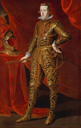 Philip IV, King of Spain,  ca. 1628 (attributed to Gaspar de Crayer) (1584-1669)    Metropolitan Museum of Art,  New York, NY,   45.128.14