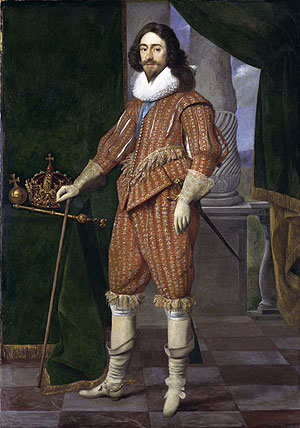 Charles I, King of England, 1629  (Daniel Mytens)  (1590-1648)   Metropolitan Museum of Art,  New York, NY
