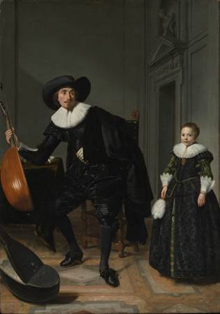 Musician and Pupil, 1629  (Thomas de Keyser) (1596-1667) Metropolitan Museum of Art,  New York, NY,   64.65.4