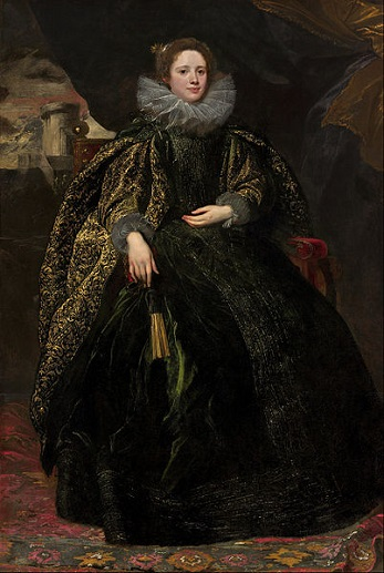 Marchesa Balbi, ca. 1623 (Sir Anthony van Dyck)  (1599-1641)  National Gallery of Art, Washington, D.C., 1937.1.49