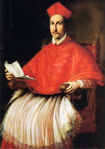 Cardinal Francesco Barberini, 1624 (Ottavio Leoni) (1578-1630)  Location TBD