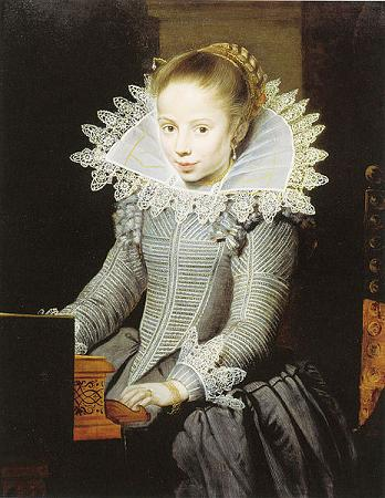 A Girl seated at a Virginal, ca. 1625 (Cornelis de Vos) (1584-1651) Private Collection