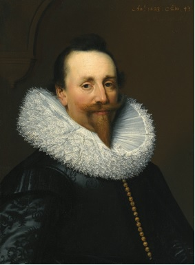 A Man, 1623 (Jan Antonisz. van Ravesteyn) (1572-1657)   Sothebys Sale L11030, Lot 64
