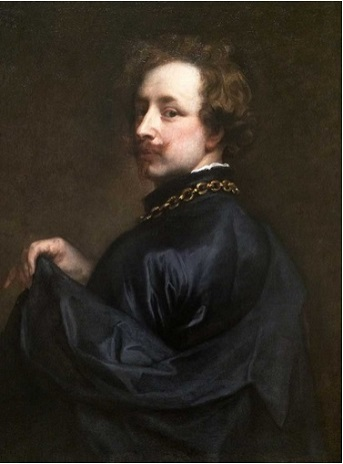 Self-Portrait, ca. 1628 (Sir Anthony van Dyck) (1599-1641)  Minneapolis Institute of Arts, MN