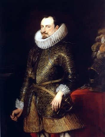 Emanuel Filiberto of Savoy, Viceroy of Sicily, 1624 (Sir Anthony van Dyck) (1599-1641)  Dulwich Picture Gallery, London
