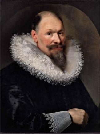 A Gentleman, ca. 1625  (Paulus Moreelse) (1571-1638) The Weiss Gallery, London