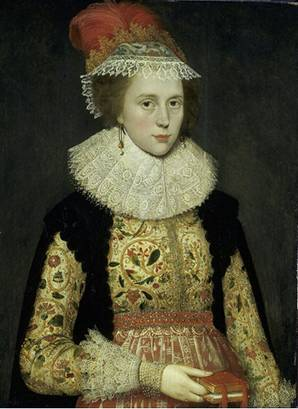 Margaret Layton, ca. 1620  (Marcus Gheeraerts the Younger) (1561-1636)  Victoria and Albert Museum, London