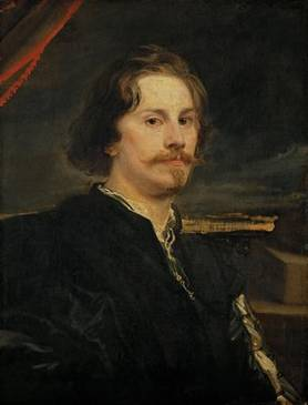 A Man, possibly Paul de Vos ca.  1620-1621 (Anthony van Dyck) (1599-1641)    Kunsthistorisches Museum, Wien     GG_693