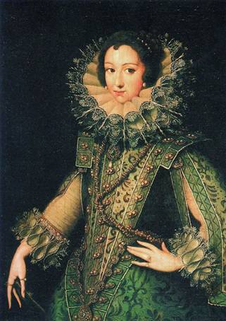 Elisabeth de Bourbon, Queen Consort of Spain,  ca.  (Rodrigo de Villandandro) (1588-1623) Private Collection