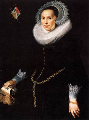 Johanna Le Maire, ca. 1622 (Nicolaes Pickenoy) (1588-1656)    Private Collection