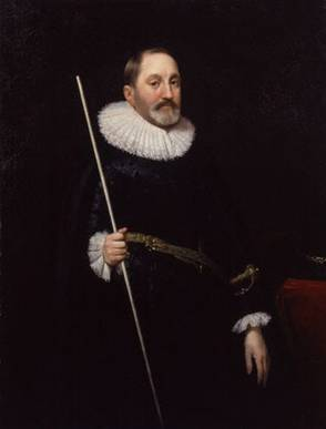 Sir Thomas Edmondes, ca. 1622  (Daniel Mijtens) (1590-1648) Location TBD