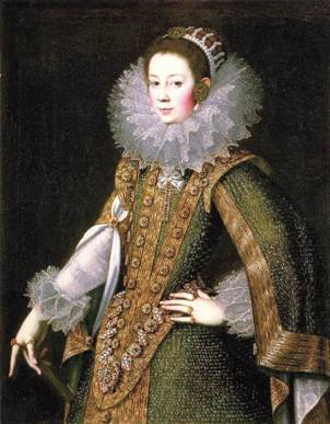 A Woman, possibly Doña Juana de Salinas, ca. 1622 (Rodrigo de Villandandro) (??-1637) National Gallery of Ireland, Dublin            OOC