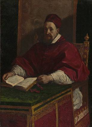 Pope Gregory XV , 1622-1623 (Guercino) (1591-1666) J. Paul Getty Museum, Los Angeles, CA  87.PA.38