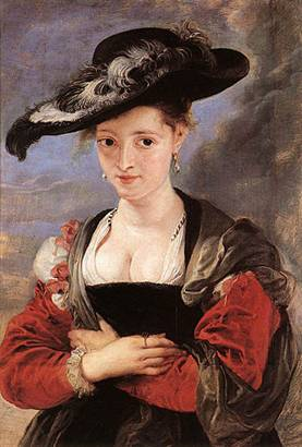 A Woman, possibly Susanna Lundent – Rubens 2nd Wife?, ca. 1625  (Peter Paul Rubens) (1577-1641) Location TBD