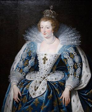 Anne Of Austria, ca. 1625  (Peter Paul Rubens) (1577-1640)   Norton Simon Museum, Pasadena, CA