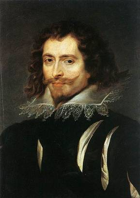 George Villiers, 1st Duke of Buckingham, ca. 1625  (Peter Paul Rubens) (1577-1640) Palazzo Pitti Florence