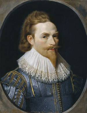Self-Portrait, ca. 1625  (Nathaniel Bacon) (1585-1627)   Location TBD