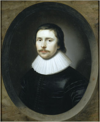 Edward Hyde, 1st Earl of Clarendon, 1626  (Cornelius Johnson) (1593-1661)  Government Art Collection, London